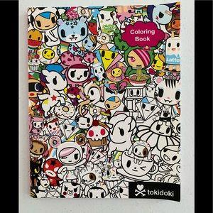 New Tokidoki Coloring Book